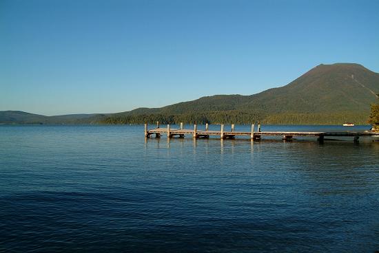 「阿寒湖」釧路市阿寒町